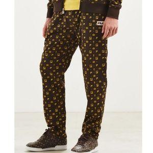 NWT Fila x Urban Outfitters Monogram Track Pants L